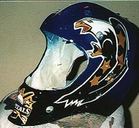 Cincinnati Makeup Artist Jodi Byrne Automotive Eagle Hockey Helmet