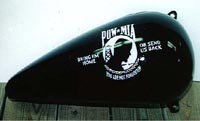 Cincinnati Makeup Artist Jodi Byrne Automotive POW-MIA Motorcycle Helmet